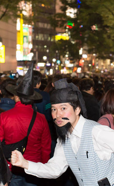 渋谷に繰り出した脳みそ夫。