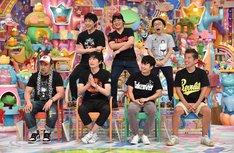 「プロレス大好き芸人ゴールデン」の出演者たち。(c)テレビ朝日