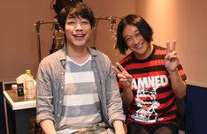 麒麟・川島(左)と永野(右)。