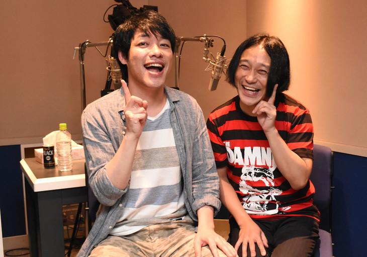 DVD「IPPONグランプリ16」の副音声を務める麒麟・川島(左)と永野(右)。