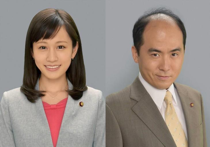 (左から)前田敦子、トレンディエンジェル斎藤。(c)フジテレビ