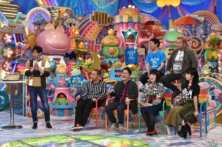 「アメトーーク!」に出演する「岡山盛り上げよう芸人」たち。(c)テレビ朝日