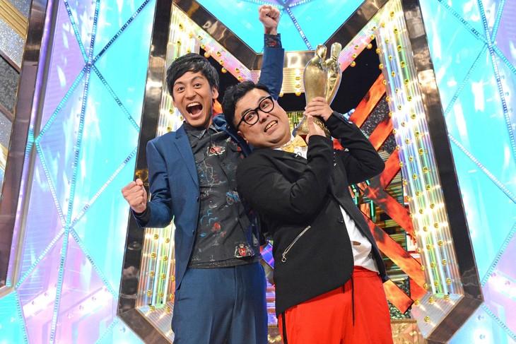 「M-1グランプリ2017」で優勝したとろサーモン。