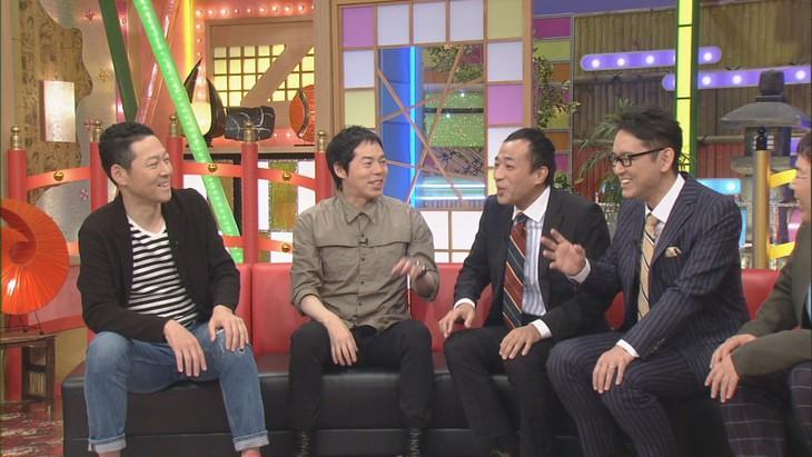 「本能Z」に出演する(左から)東野幸治、今田耕司、ナイツ。(c)CBC