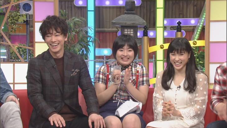 「本能Z」に出演する(左から)佐藤健、いかちゃん、土屋太鳳。(c)CBC