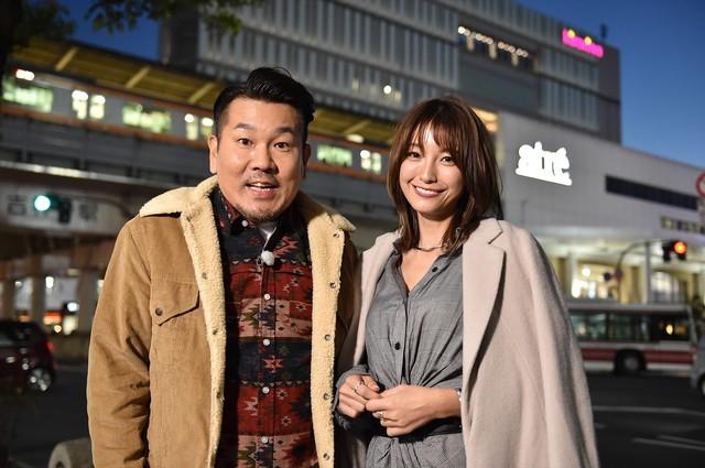 「モニタリングSP」に出演する、(左から)FUJIWARA藤本、木下優樹菜。(c)TBS