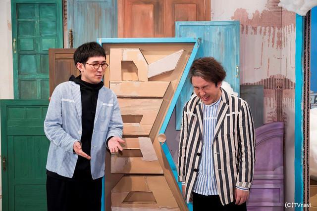 シソンヌじろう(左)とムロツヨシ(右)。