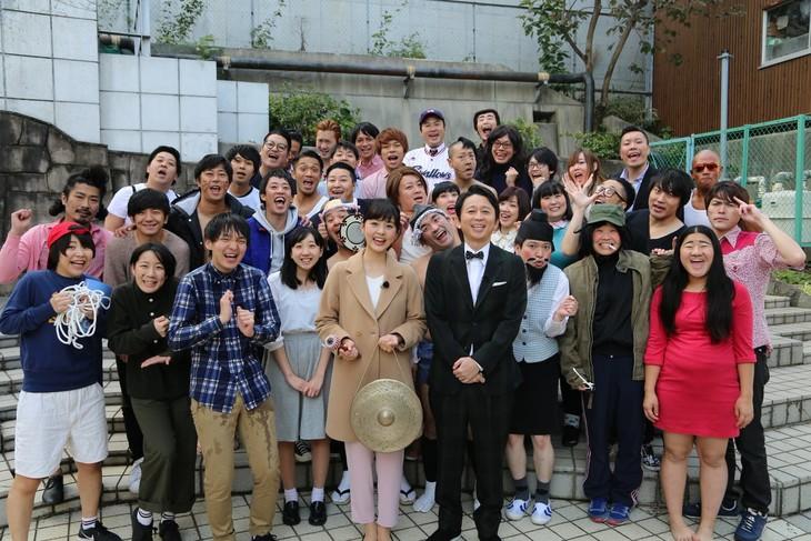 「有吉の壁・若手芸人予選会SP」の出演者たち。(c)日本テレビ