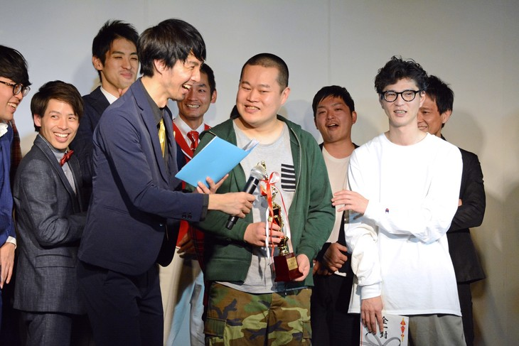 「K-PROライブアワード2017」MVP大賞発表の様子。