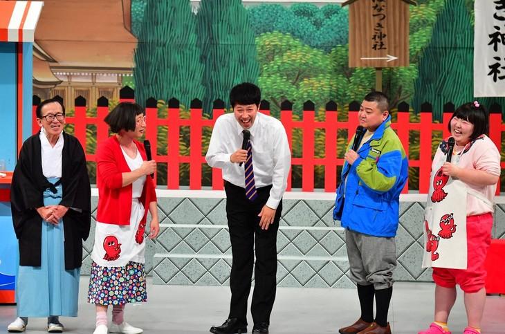 「お正月限定!超豪華な吉本新喜劇SP」のワンシーン。(c)TBS