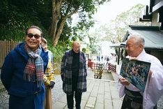 「ブラタモリ×鶴瓶の家族に乾杯 初夢スペシャル」のワンシーン。(c)NHK