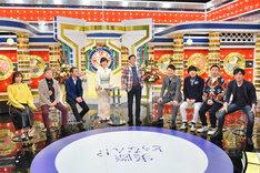 「痛快!明石家電視台 モー娘OG&新喜劇芸人 正月だからぶっちゃけSP」のワンシーン。(c)MBS