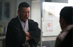 ケンドーコバヤシ扮する大嵐寿三郎。
