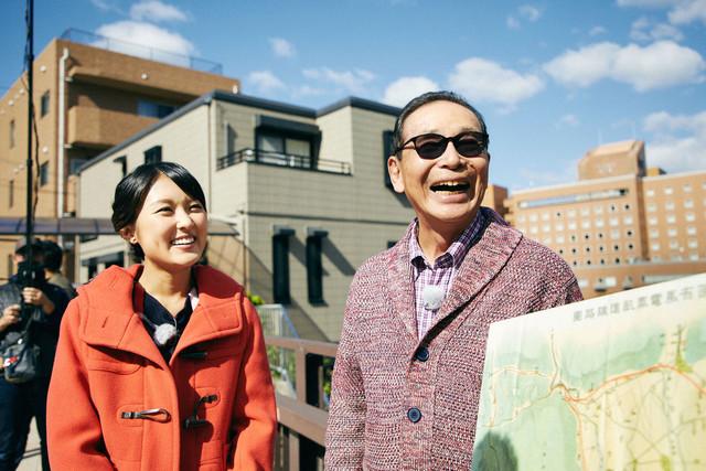 「ブラタモリ」1月13日放送回のワンシーン。(c)NHK