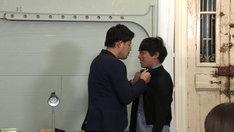 冷やし漫才に挑戦するアルコ&ピース。(c)テレビ東京