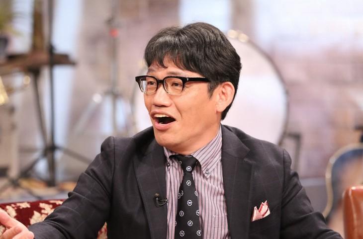「関ジャニ∞のジャニ勉」に出演する、ずん飯尾。(c)関西テレビ