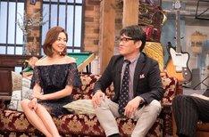 ずん飯尾とSHIHO(左)。(c)関西テレビ