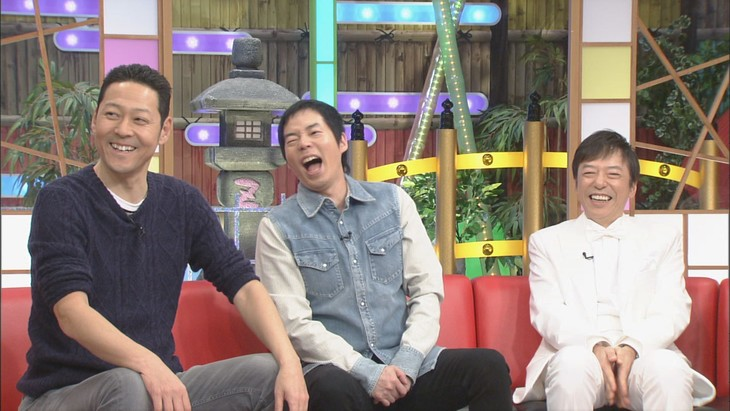 「本能Z」に出演する(左から)東野幸治、今田耕司、板尾創路。(c)CBC