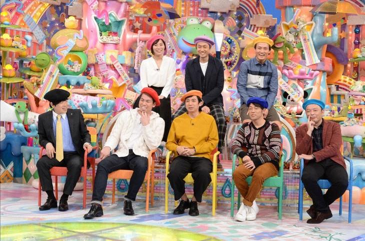 「日曜もアメトーーク!」に出演する「絵心ない芸人」たち。(c)テレビ朝日