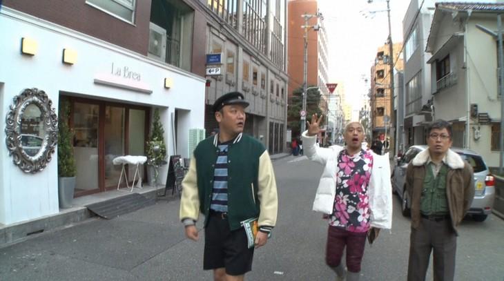 「松本家の休日」に出演する(左から)たむらけんじ、松本人志、雨上がり決死隊・宮迫。(c)ABC