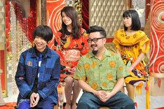 ゲスの極み乙女。(c)日本テレビ