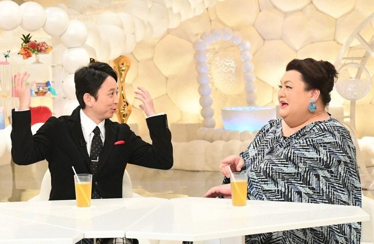 「マツコ&有吉 かりそめ天国」に出演する(左から)有吉弘行、マツコ・デラックス。(c)テレビ朝日