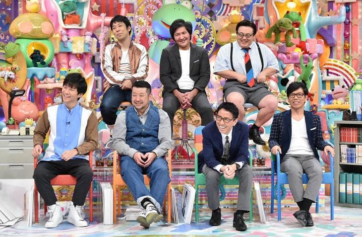 「アメトーーク!」に集結する「島耕作芸人」たち。(c)テレビ朝日
