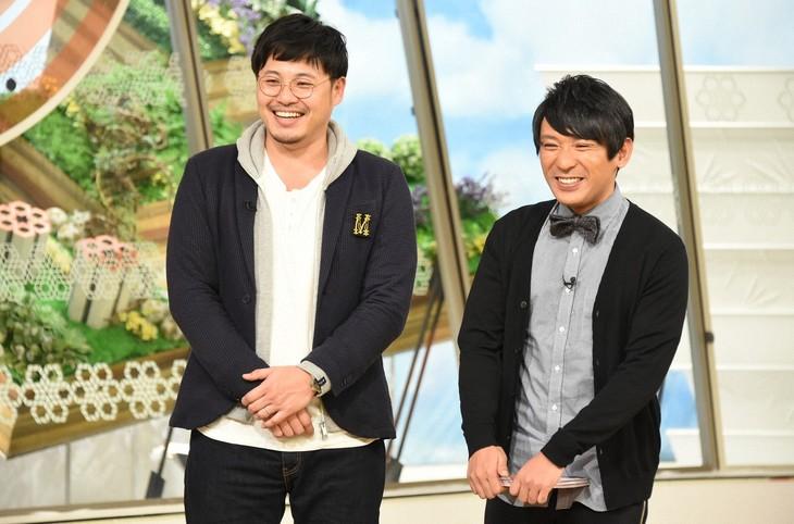 「キニナル金曜日」に出演する、アルコ&ピース。(c)TBS