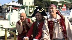 千鳥と安田大サーカス・クロちゃん(左)。(c)RCC