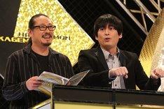 (左から)笑い飯・西田、博多大吉。(c)関西テレビ