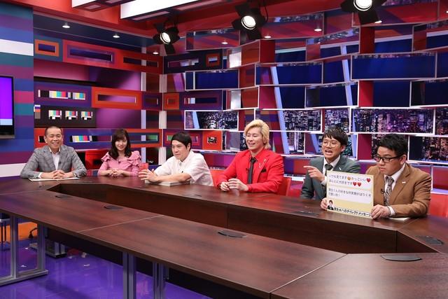 ミキ(右端)がプレゼンするワンシーン。(c)中京テレビ