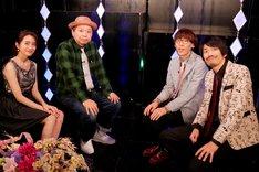 左から曽田茉莉江、真空ジェシカ。(c)BSフジ