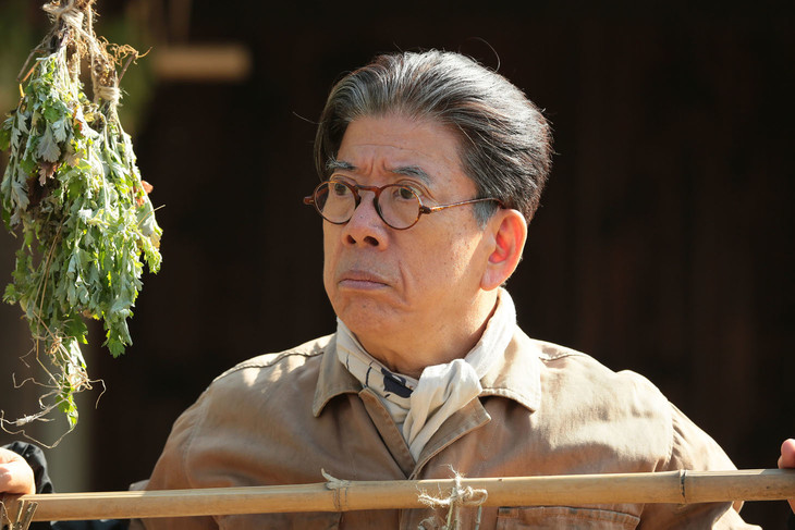 西川きよしの「わろてんか」出演シーン。(c)NHK