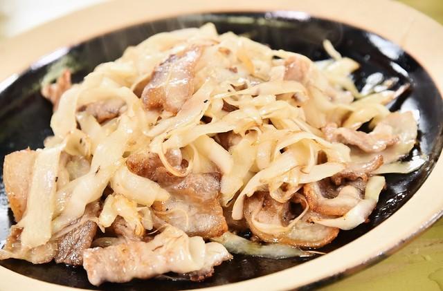 出雲おろち大根を使った料理。(c)日本テレビ