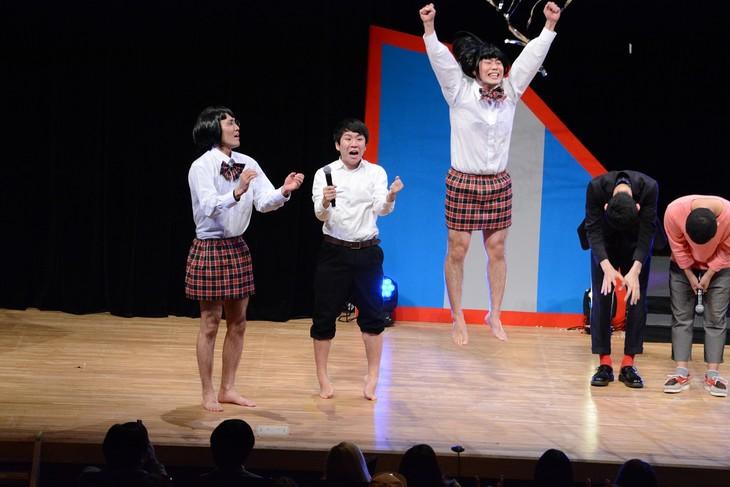 「ワタナベお笑いNo.1決定戦2018」で優勝したハナコ。
