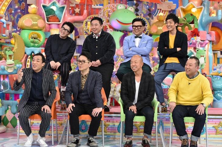 「アメトーーク!」に出演する「女性人気ない芸人」たち。(c)テレビ朝日