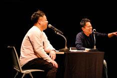 """「ダイアンのよなよな…」公開イベントの様子。(撮影:日吉""""JP""""純平)"""