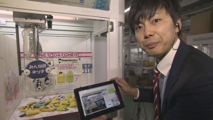 「本能Z」でネットクレーンゲームの倉庫に潜入するラフレクラン西村。(c)CBC