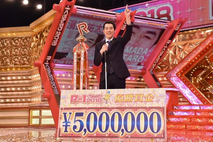 「R-1ぐらんぷり2018」で優勝した濱田祐太郎。