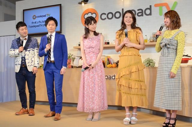 左から和牛、小倉優子、スザンヌ、舟山久美子。