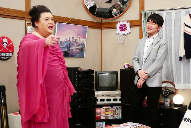 「仲村トオルが地井武男にワッパを掛けられた時代…とマツコ」のワンシーン。(c)日本テレビ
