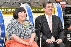 「痛快!明石家電視台」3月19日放送回のワンシーン。(c)MBS
