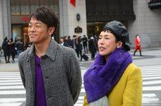 左から陣内智則、久本雅美。(c)読売テレビ