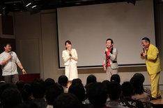 「ブギウギ専務」DVD発売記念イベントのワンシーン。(撮影:岡本貴之)