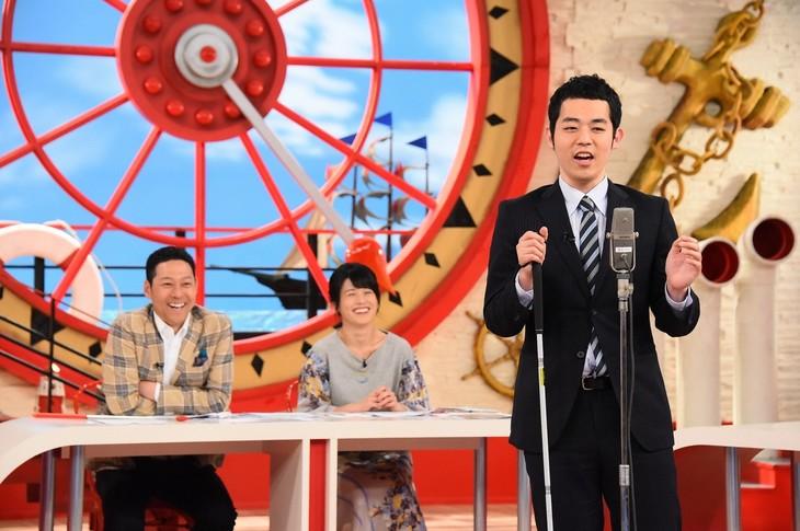 「マルコポロリ!」に出演する濱田祐太郎(右)。(c)関西テレビ