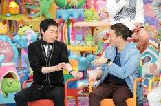 (左から)今田耕司、サバンナ高橋。(c)テレビ朝日