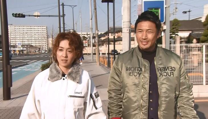 「大改造!!劇的ビフォーアフター 2時間スペシャル」に出演する(左から)尼神インター渚、魔裟斗。(c)ABC