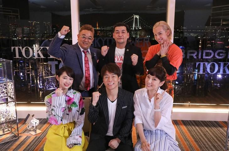 「○○発東京行き 2018春」の出演者たち。(c)関西テレビ