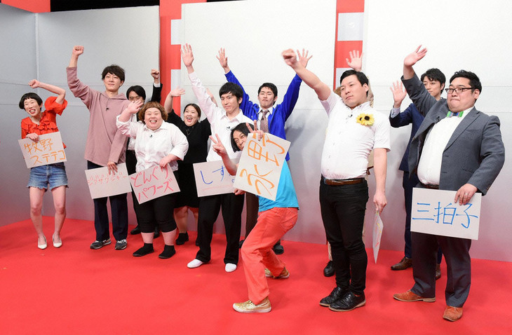 「お笑い王決定戦2018」4月大会第3週の様子。