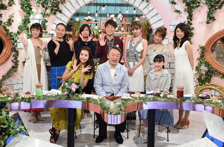 """「池上彰と""""女子会""""」の出演者たち。(c)TBS"""